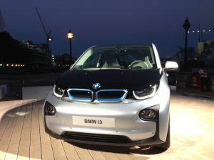 i3 at launch outside by river thames head on