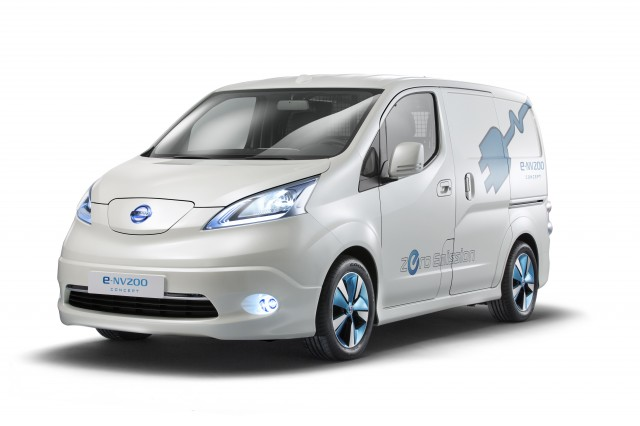 Nissan EV Van