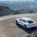 porsche mission E plan view