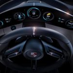 porsche mission E side dashboard
