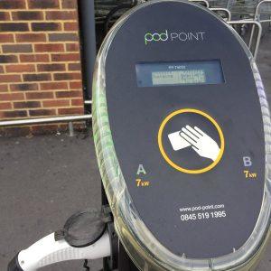 type 2 charging post
