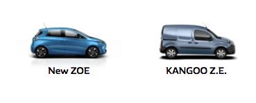 Renault EV models