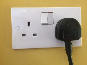 13 Amp Socket Mode 2 charging