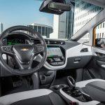 2017 Chevrolet Bolt EV. interior