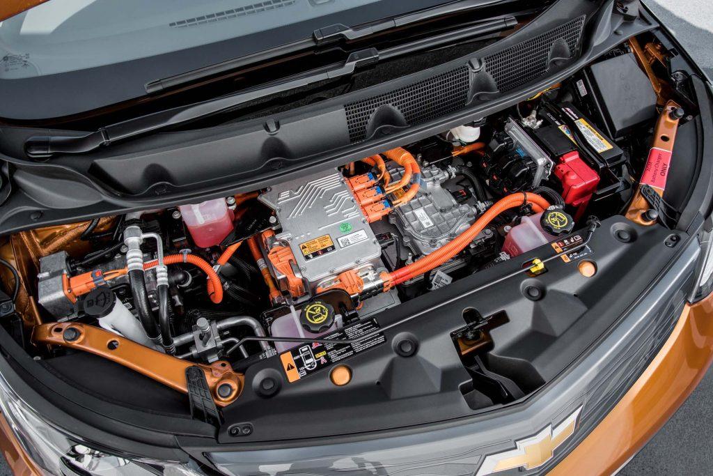 2017 Chevrolet Bolt EV. Side view