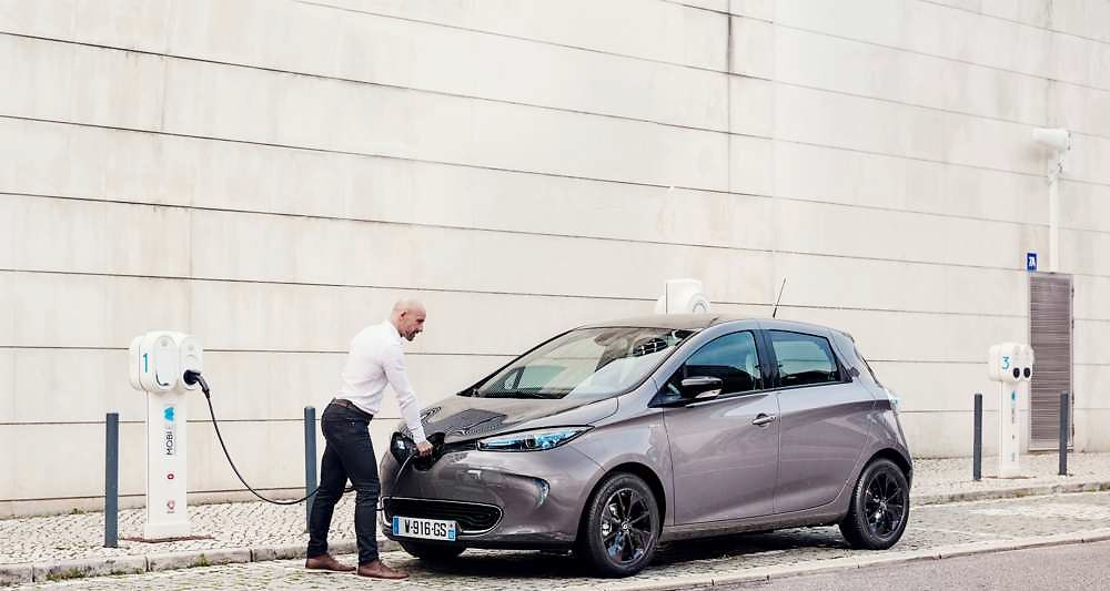 renault zoe in paris