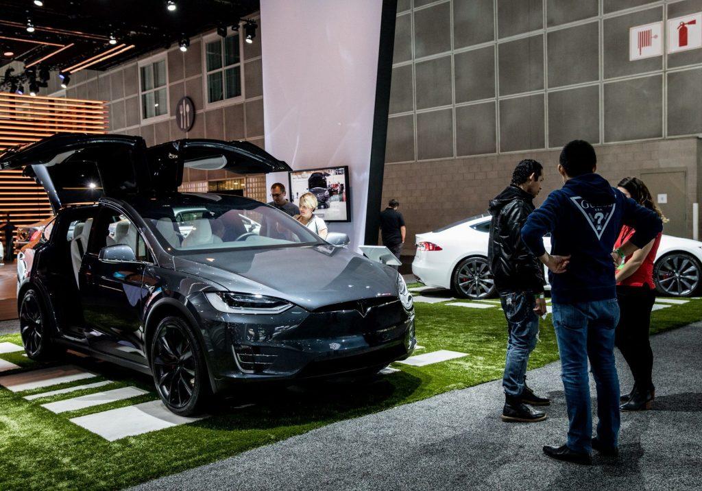 Tesla LA Show