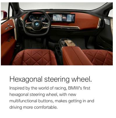 bmw ix steering